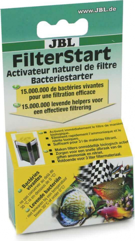 JBL FilterStart Bactéries vivantes