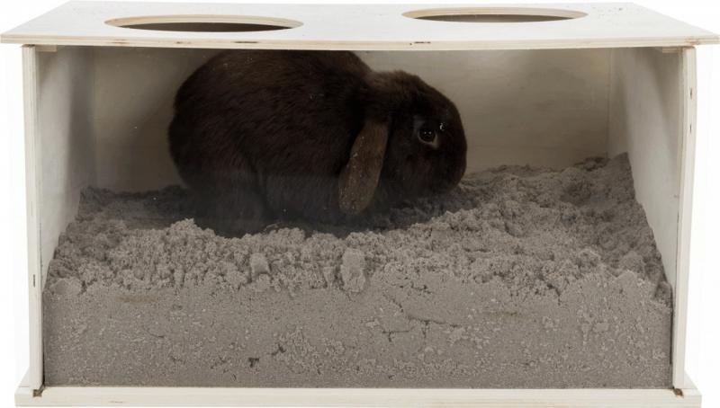 Snuffeldoos voor konijnen