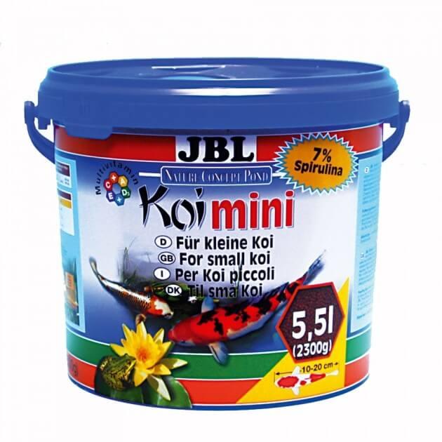 Koi mini koi pellets f r kleine koi futter f r teichfische for Kleine teichfische