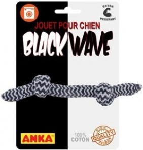 Anka Corde à noeuds Black wave - Plusieurs tailles
