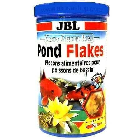 Jbl pond flakes nourriture en flocons aliments poisson for Nourriture poisson rouge de bassin