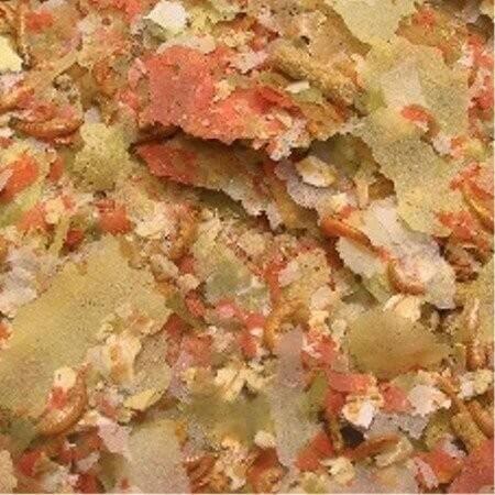 Pond vario mix aus futterflocken sticks und krebstieren for Teichfische futter