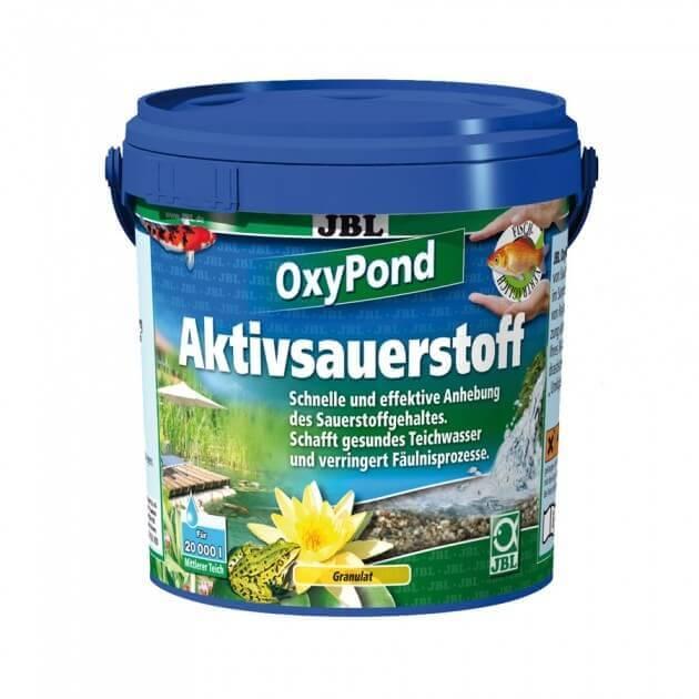 Oxypond hochaktiv sauerstoff f r den gartenteich for Gartenteich sauerstoff