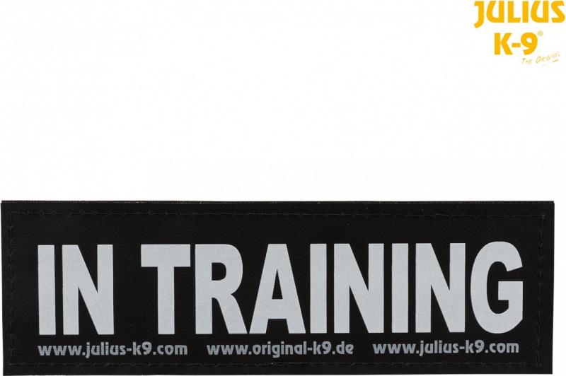 2 Etiquetas autoadhesivas Julius-K9® IN TRAINING