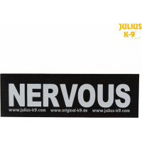 2 Bandes auto agrippantes Julius-K9® NERVOUS