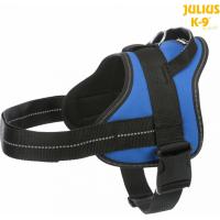 Harnais Pure Julius-K9® bleu pour chien
