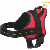 Arnés Pure Julius-K9® rojo para perro