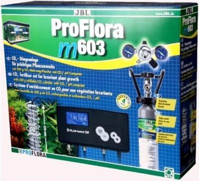 Kit CO2 ProFlora M603 botella 500 gr reutilizable + CO2 pH Control 12 V
