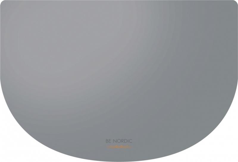 BE NORDIC Set de table 40 × 30 cm gris