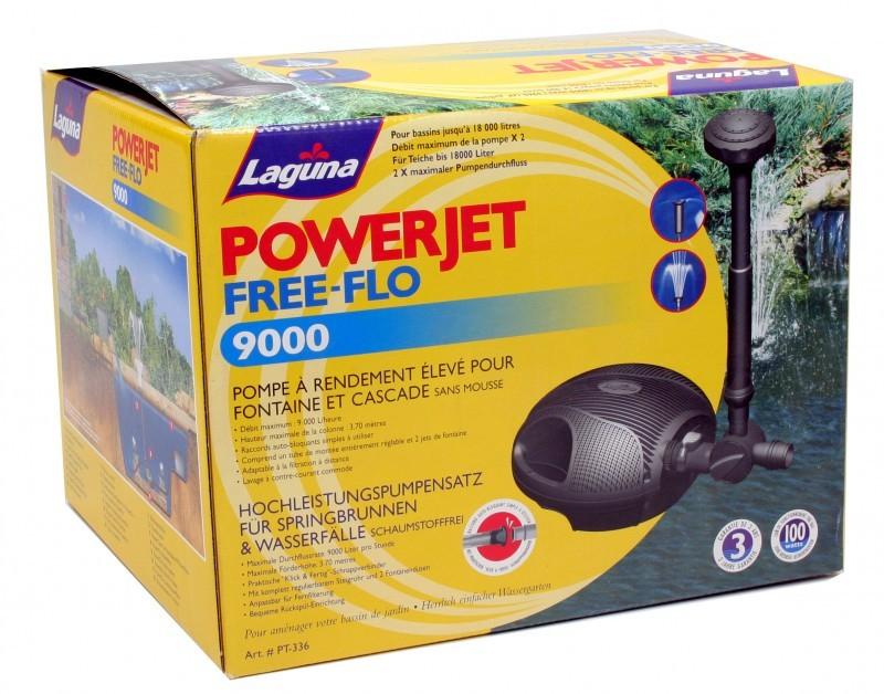 pompe powerjet free flo 9000 pompe bassin. Black Bedroom Furniture Sets. Home Design Ideas