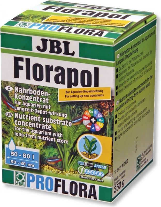 JBL Florapol engrais concentré à mélanger avec le substrat