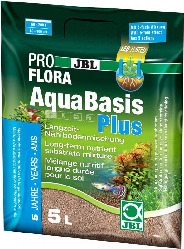 AquaBasis plus - Fertige Langzeit-Nährbodenmischung für die Neueinrichtung