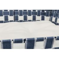 Corbeille bleue et blanche Trixie Elvar