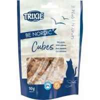 Trixie Be Nordic friandises cubes de saumon