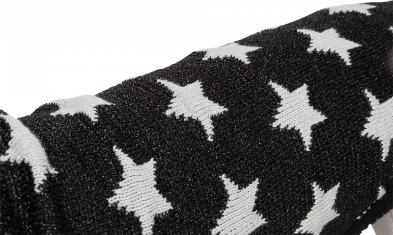 Trixie Pullover pour chien Stella Bay - Noir/Gris - Plusieurs tailles disponibles