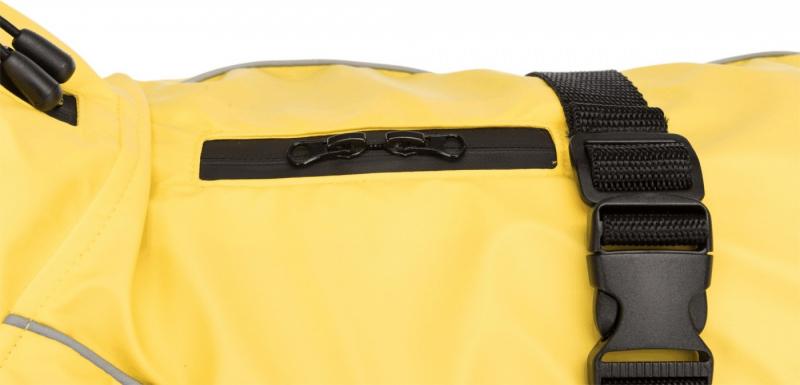 Manteau Imperméable Vimy Jaune pour chien - plusieurs tailles disponibles