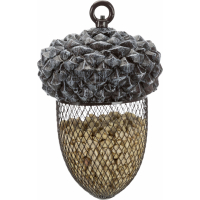 Trixie Outdoor Futterspender Eichel für Wildvögel - 700 ml / 14 × 22 cm