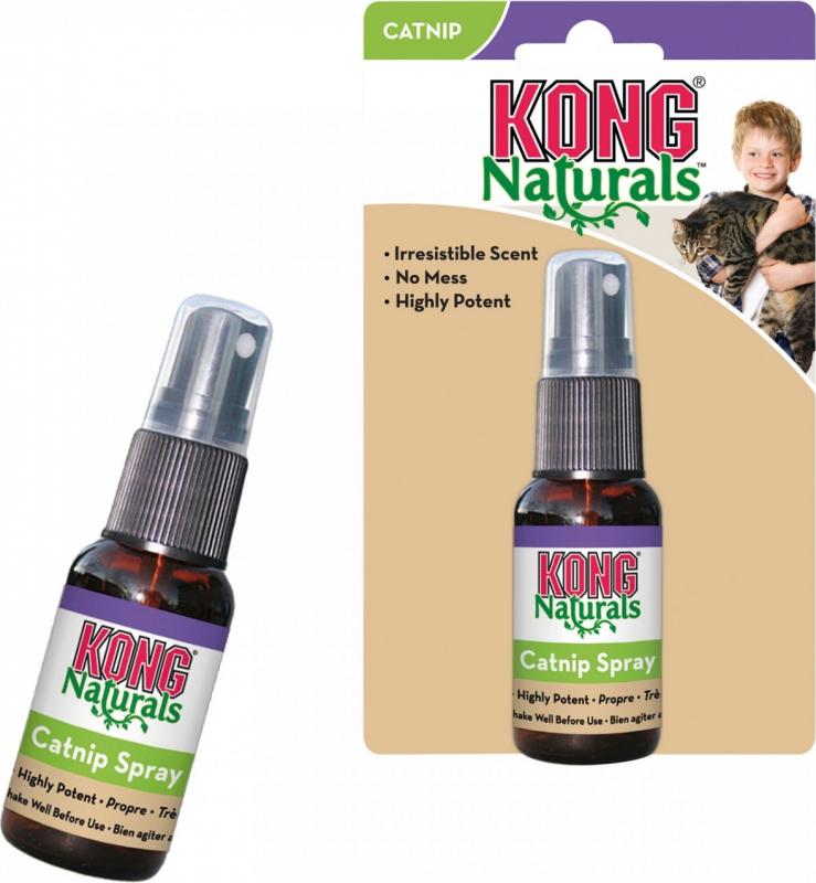 Herbe à chat naturelle Kong Naturals Catnip Spray
