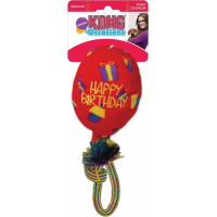 Kong Jouet à rapporter pour chien Happy Birthday Balloon Red balloon