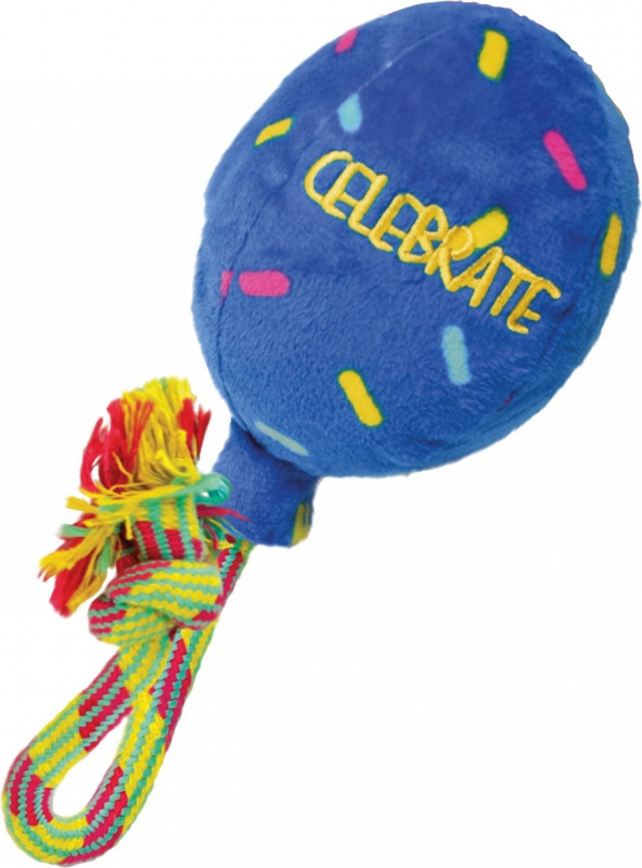 Kong Jouet à rapporter pour chien Occasions Birthday Balloon Blue balloon