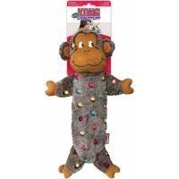 Peluche pour chien sonore Kong Low Stuff Speckles Monkey