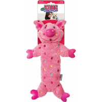 Kong Peluche sonore pour chien Low Stuff Speckles Pig