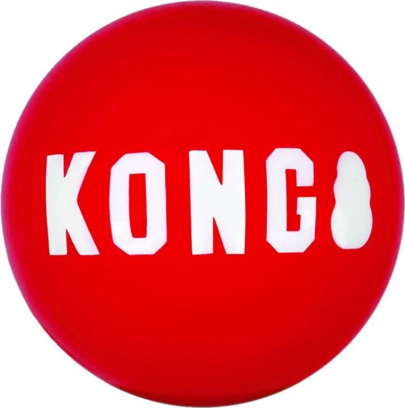 Balle pour chien Signature Kong Ball - à l'unité ou par deux