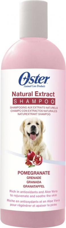 Oster Shampoing à la grenade pour chien - idéal pour la régénération de la peau