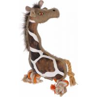 Kerbl Jouet Girafe Gina pour chien avec corde