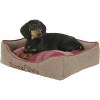 Panier pour chien brun/rouge Kerbl