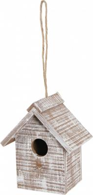 Zolux Nichoir extérieur en bois Caribou pour oiseaux de la nature - Rectangulaire