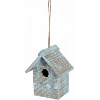 Zolux Ninho exterior de madeira Caribou para Aves da natureza - Retangular