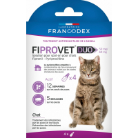 Fiprovet Duo 50mg/60mg Solution pour spot-on chat