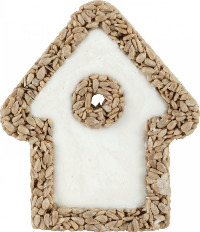 Zolux Maison bloc de graisse et graines pour oiseaux de la nature