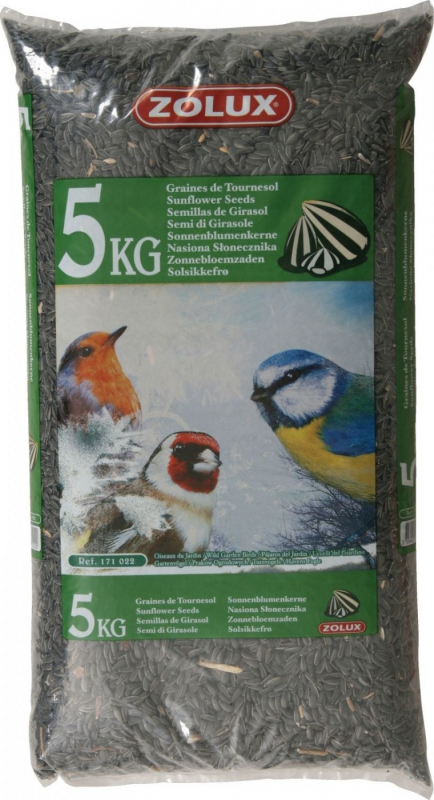 Zolux Mélange tournesol pour oiseaux du jardin - 2 et 5kg