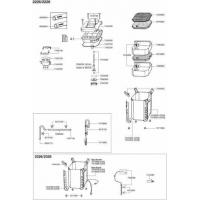 Pezzi di ricambio per filtro esterno e termofiltro Eheim Professional 2226, 2228, 2326, 2328