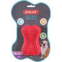 Juguete para masticar para perro caucho Titan rojo - varias tallas