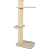 Zolux Krabmeubel City Cat met brede krabpaal (17cm) - H 115cm