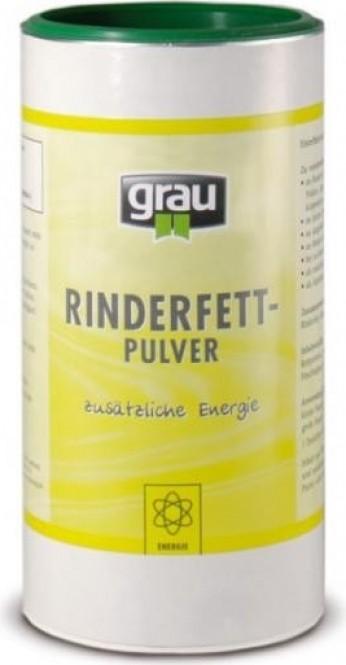 GRAU Rinderfettpulver Nahrungsergänzungsmittel für Katze und Hunde