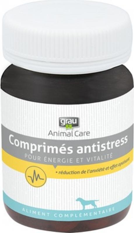 GRAU ANTI-STRESS 120 comprimidos, solução natural contra os estados de ansiedade do cão
