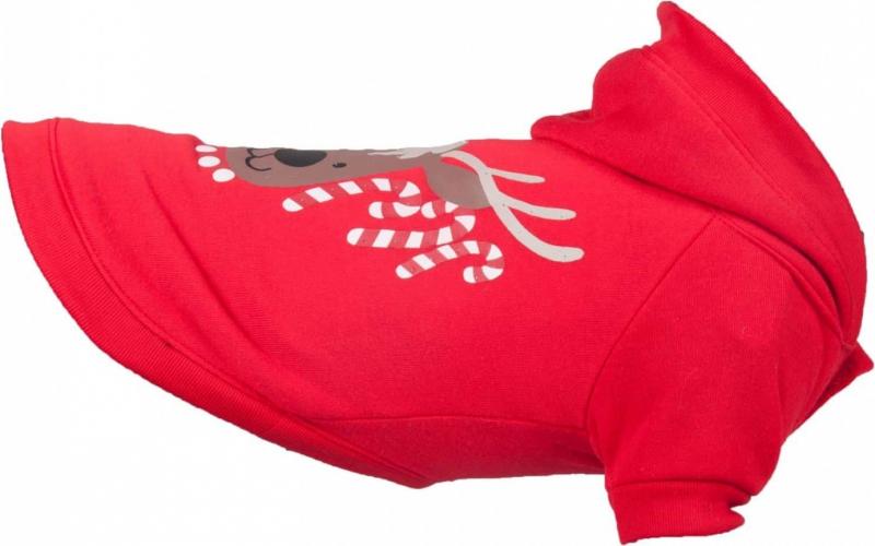 Pull et sweat de Noël pour chien à led et lumineux Flamingo