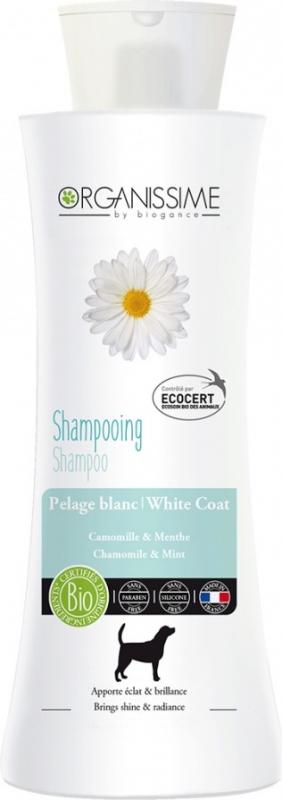 Shampoing BIO pour chien à poils blancs