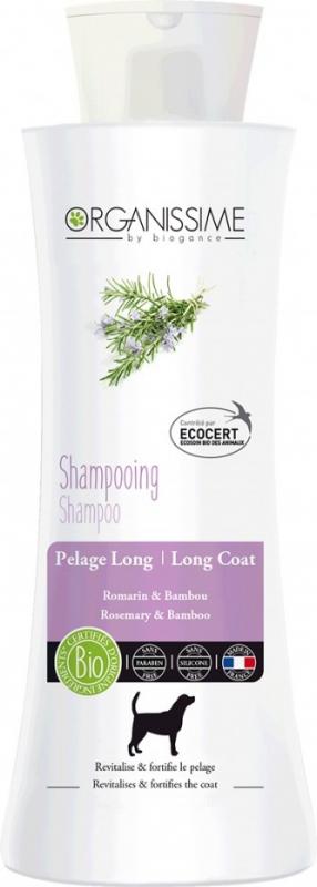 Shampoing BIO pour chien à poils longs
