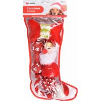 Chaussette de Noël avec 6 jouets pour chien Flamingo