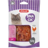 Zolux Friandise pour chat mini filet au poulet - 50g