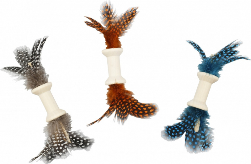 Bobine wood feather
