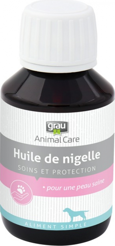 GRAU Óleo de cominho preto puro, repelente contra carraças e pulgas para cães
