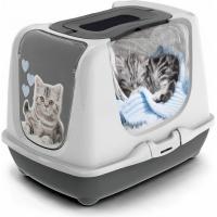 Casa Sanitários Kitty de Moda para Gatos