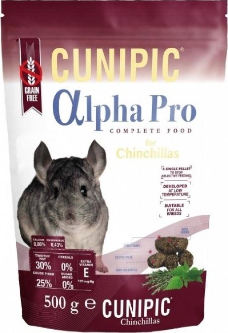 Cunipic Alpha Pro Chinchilla Aliment complet pour chinchillas