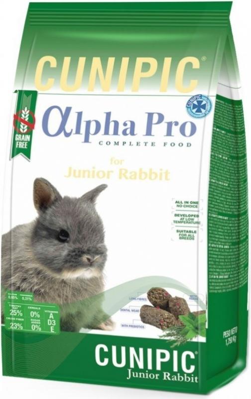 Cunipic Alpha Pro Complete Junior Rabbit lapin junior